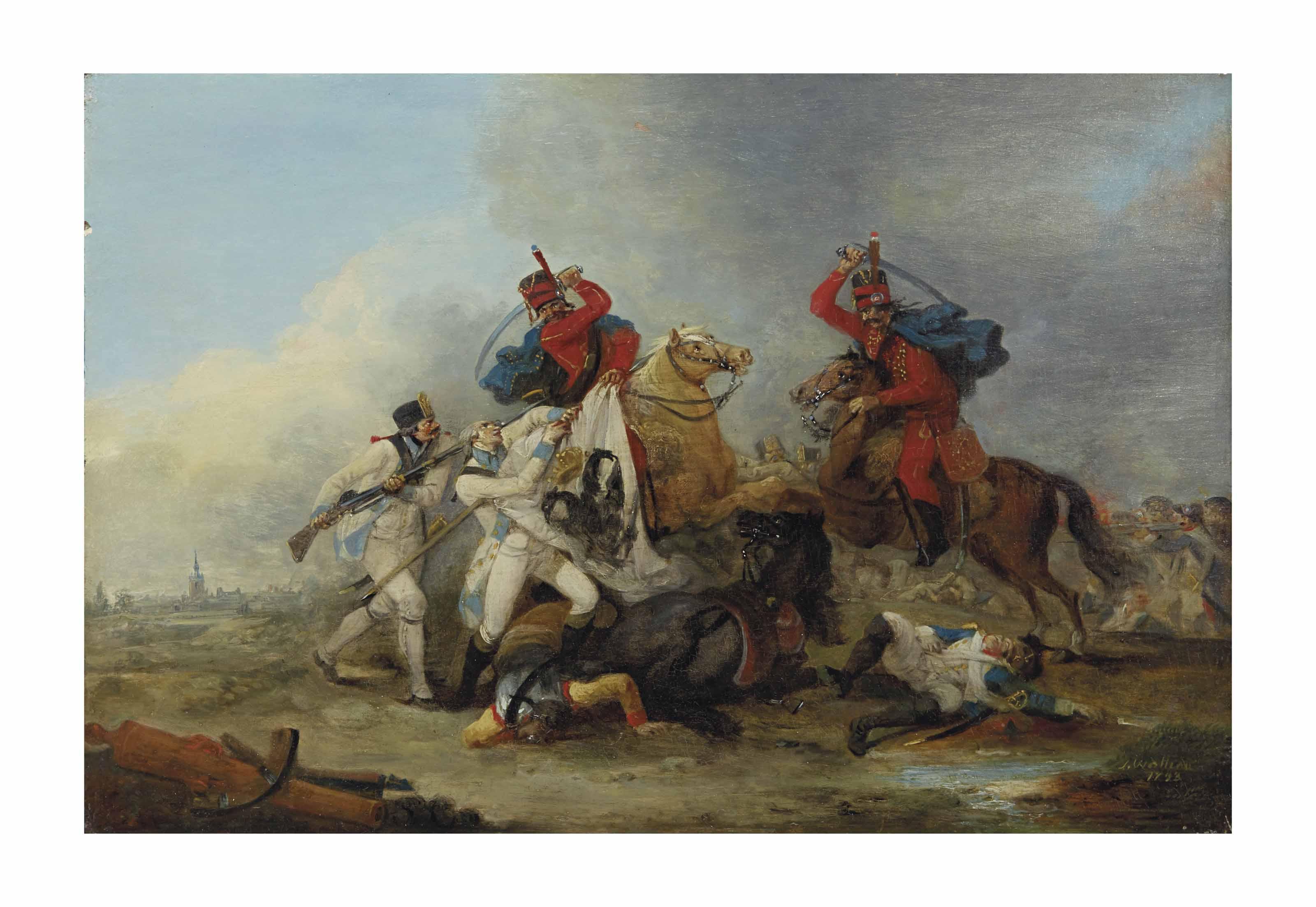 Choc de cavalerie