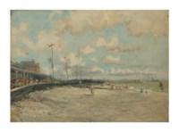 Vue de la plage de Sainte-Adresse