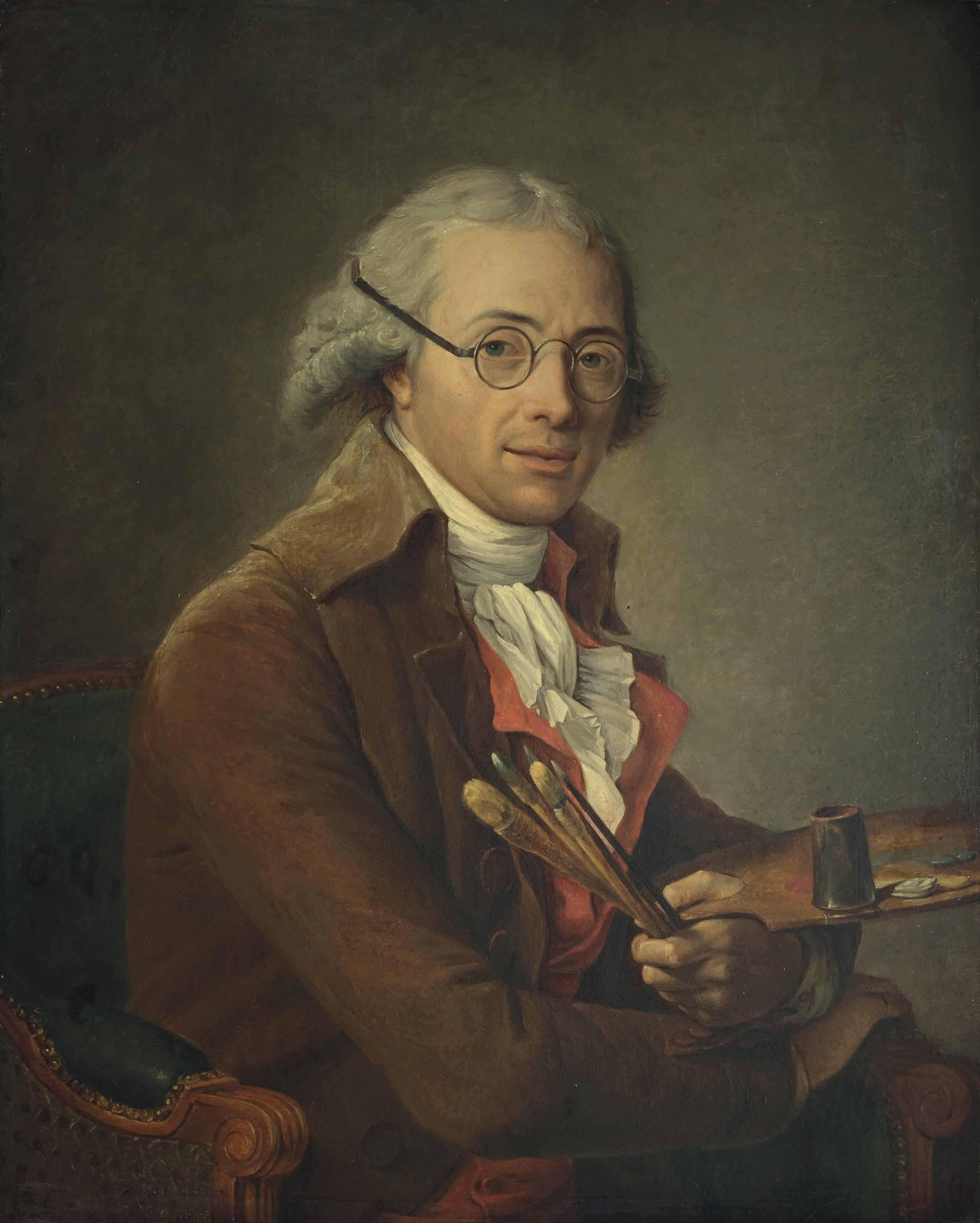 Portrait du peintre François-André Vincent (1746-1816)