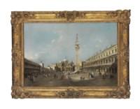 La place Saint-Marc avec la basilique et le campanile