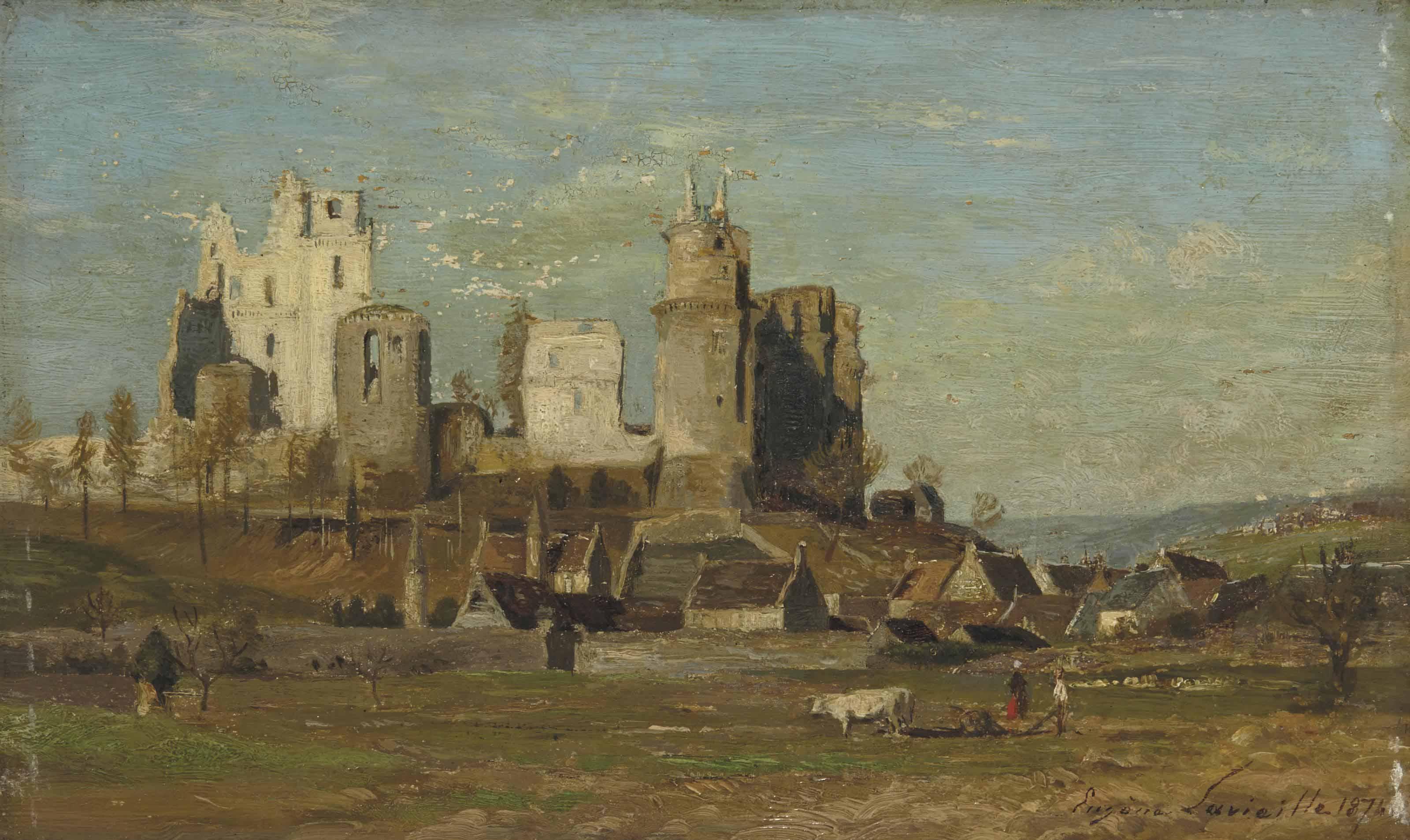 Les ruines du château de Pierrefonds