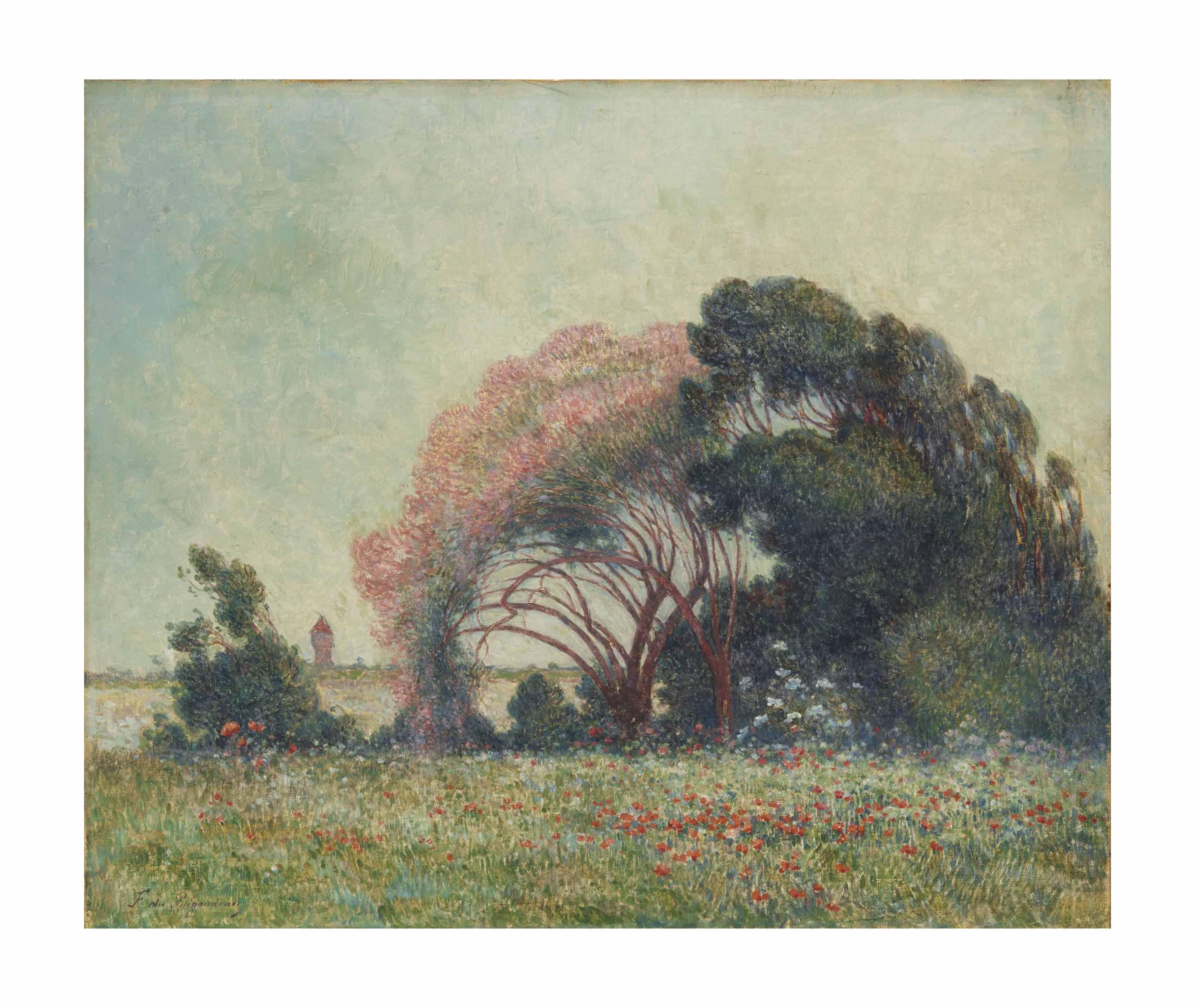 FERDINAND LOYEN DU PUIGAUDEAU (NANTES 1864-1930 LE CROISIC)