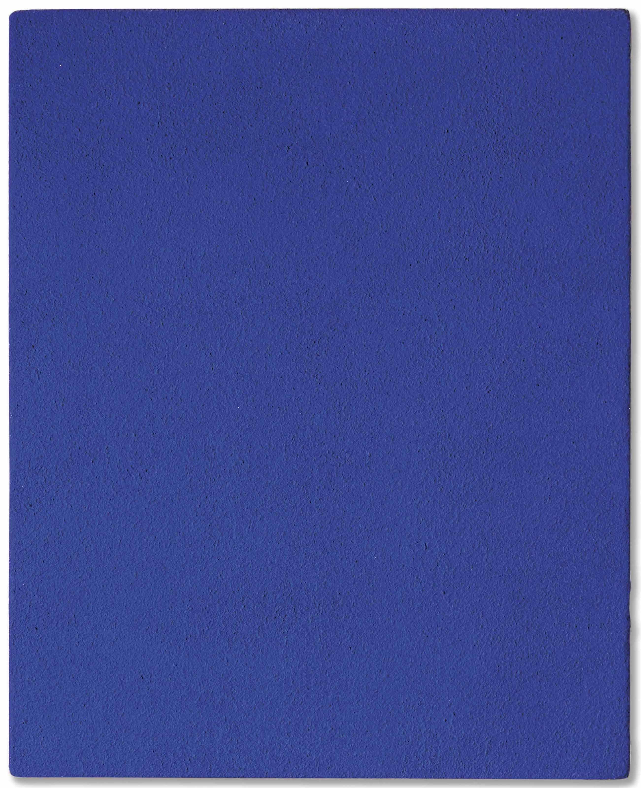 yves klein 1928 1962 monochrome bleu sans titre ikb. Black Bedroom Furniture Sets. Home Design Ideas