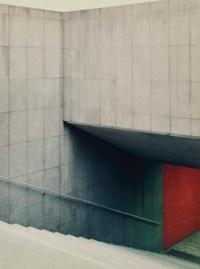 Treppenabgang, 1999