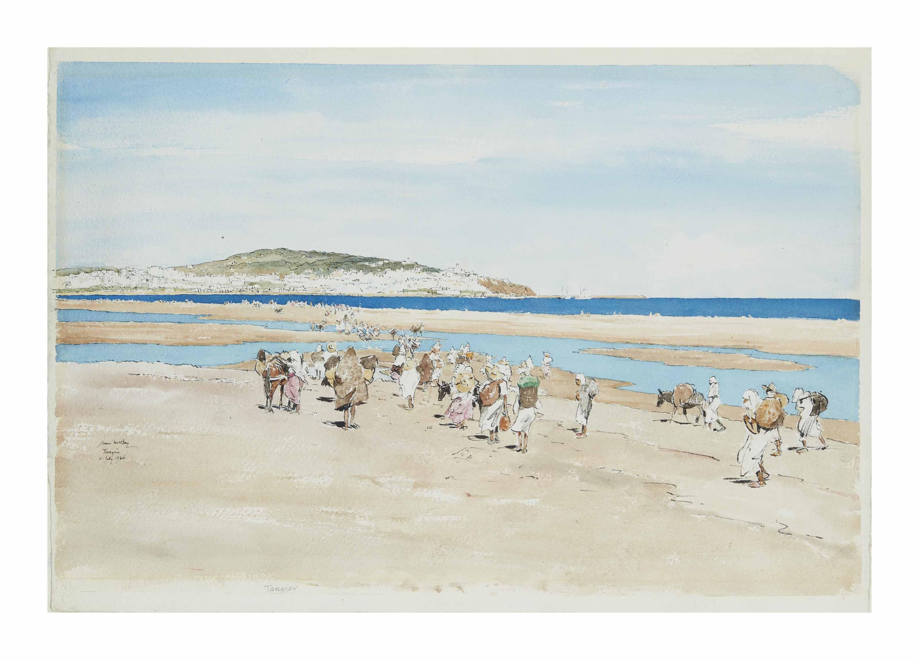 La plage à Tanger