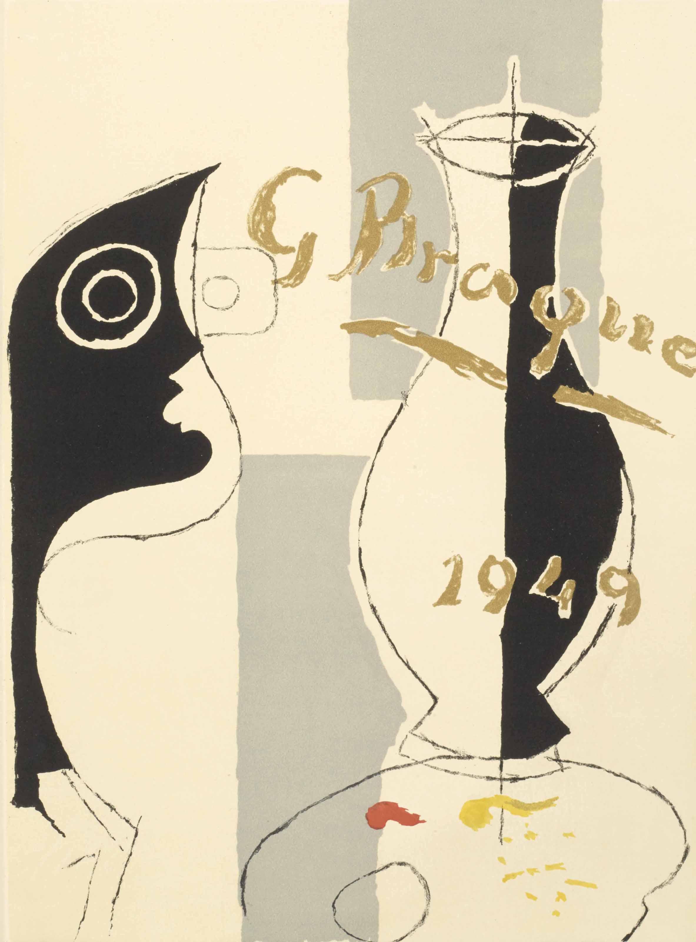 [BRAQUE, Georges] REVERDY, Pierre. Une Aventure méthodique. Paris: Fernand Mourlot, 1949.