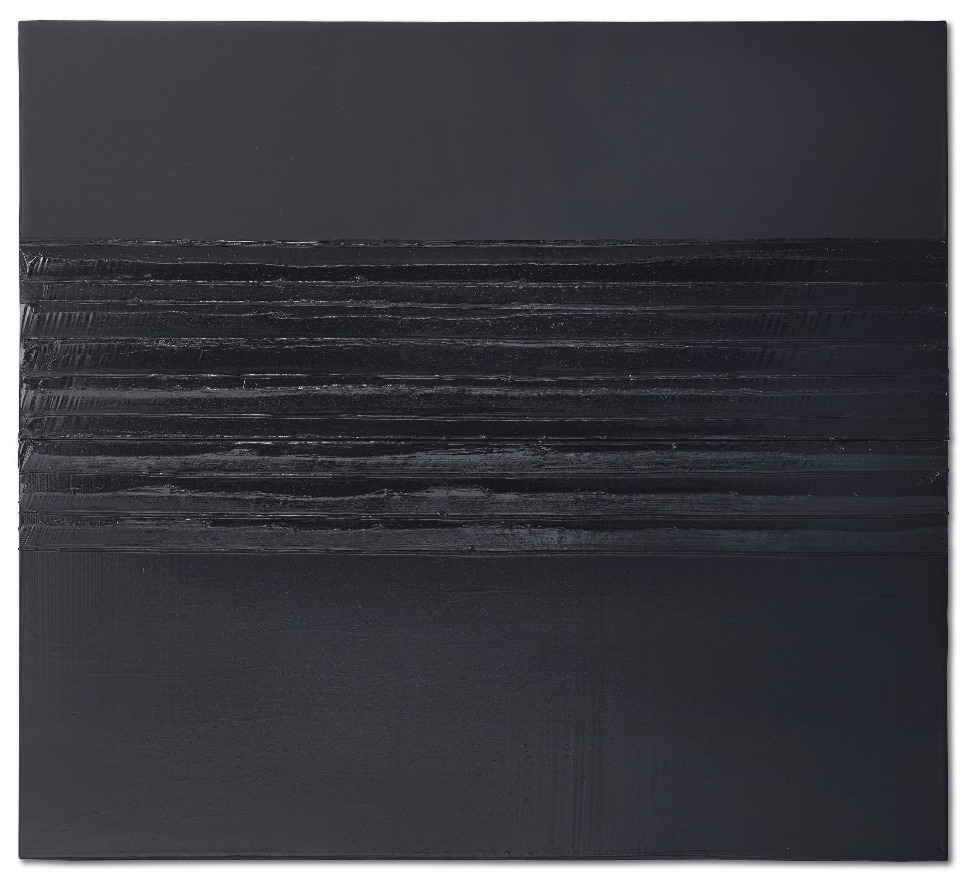 Pierre Soulages (Né en 1919) , Peinture 204 x 227 cm, 12 novembre 2007 | Christie's