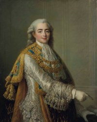 Portrait de Louis-Stanislas-Xavier de France (1755-1824), comte de Provence