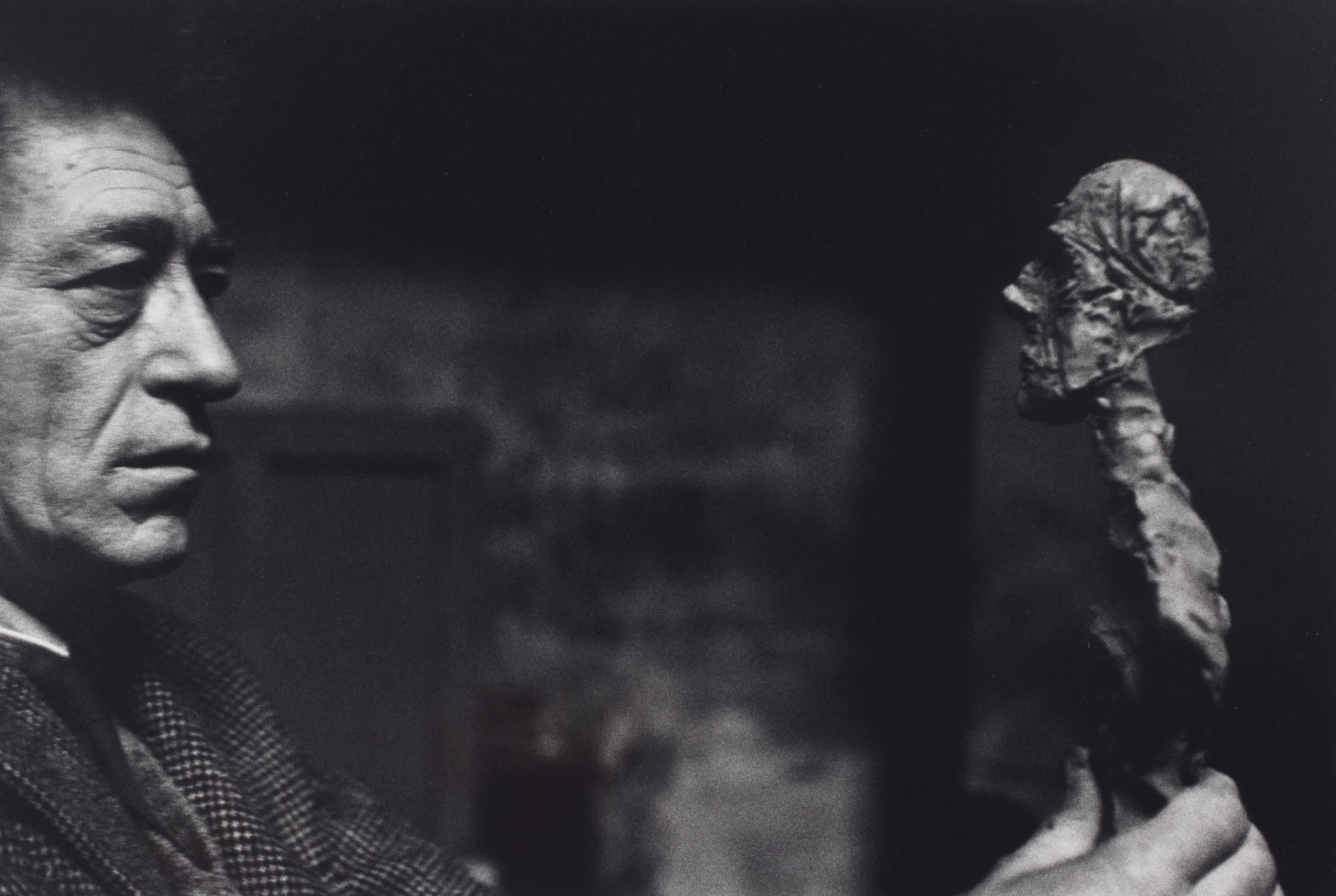 Alberto Giacometti, Paris, 1960