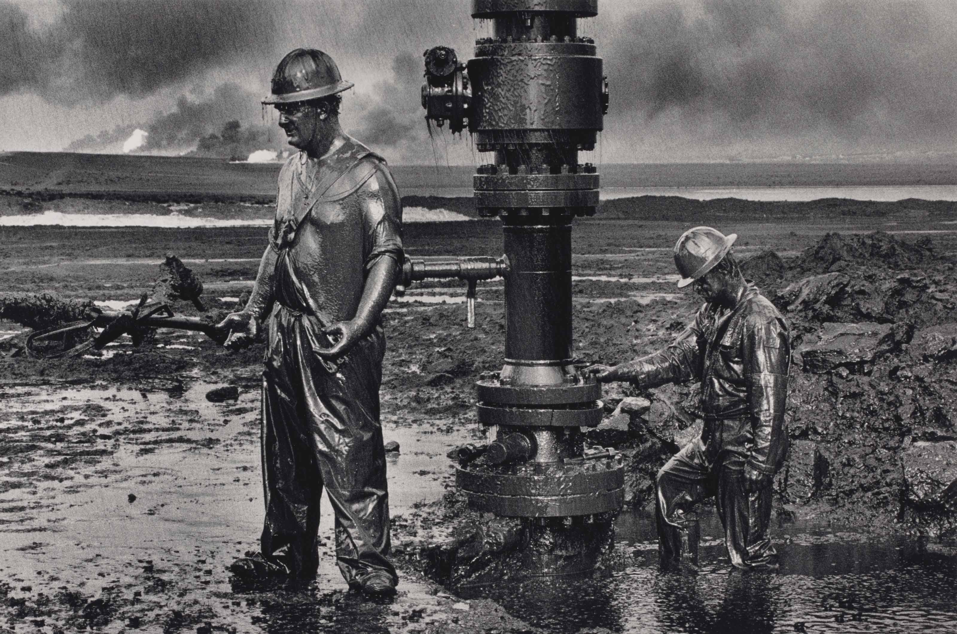 Greater Buhrman Oil Field, Kuwait, 1991