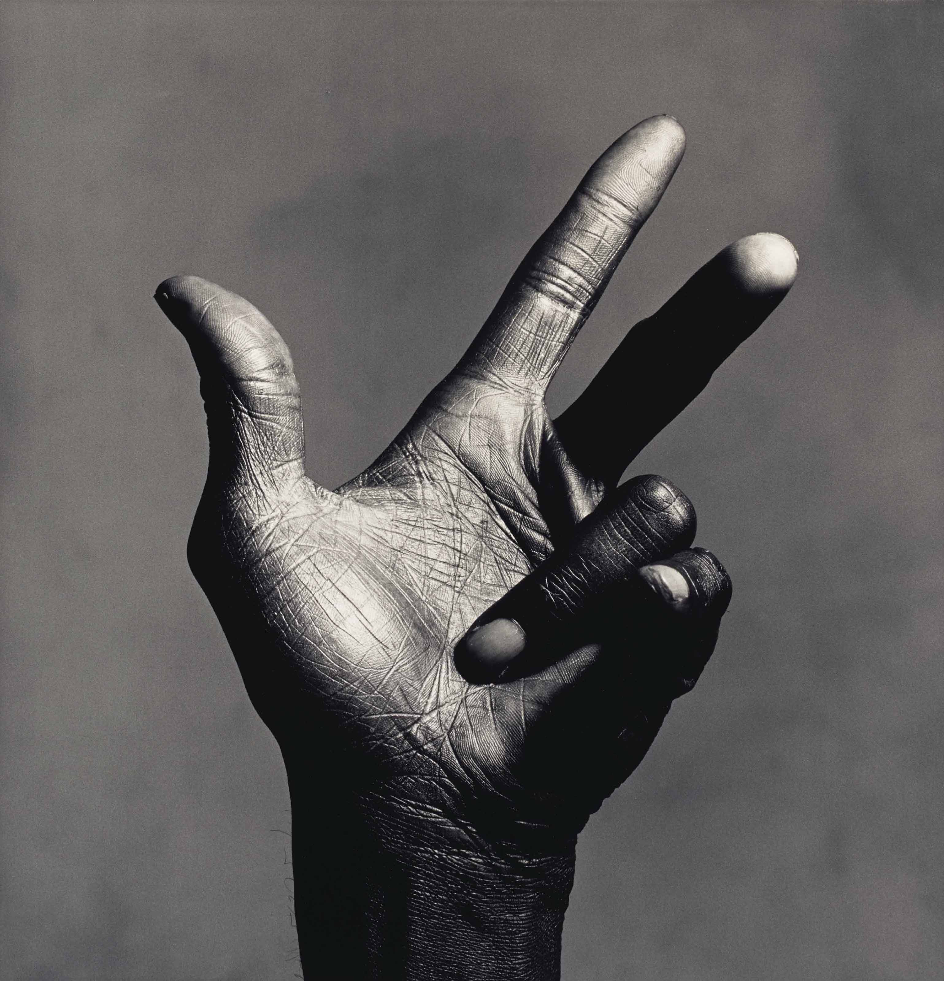 The Hand of Miles Davis (B), New York, 1986