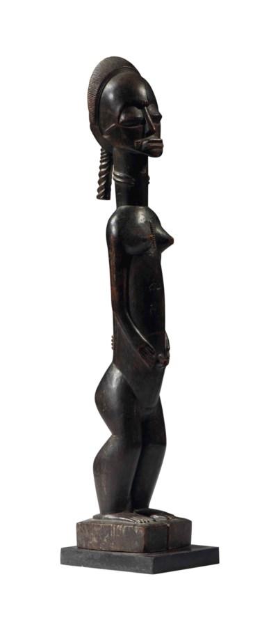 Statue Baoulé Baule figure