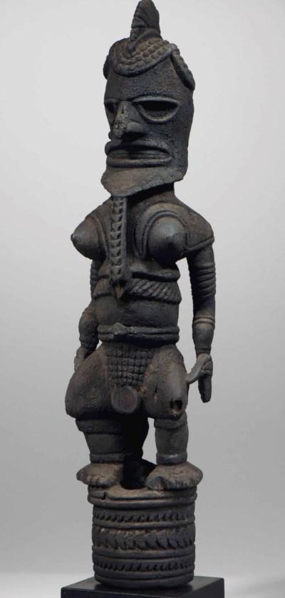 Statue d'ancêtre Uli Uli ances