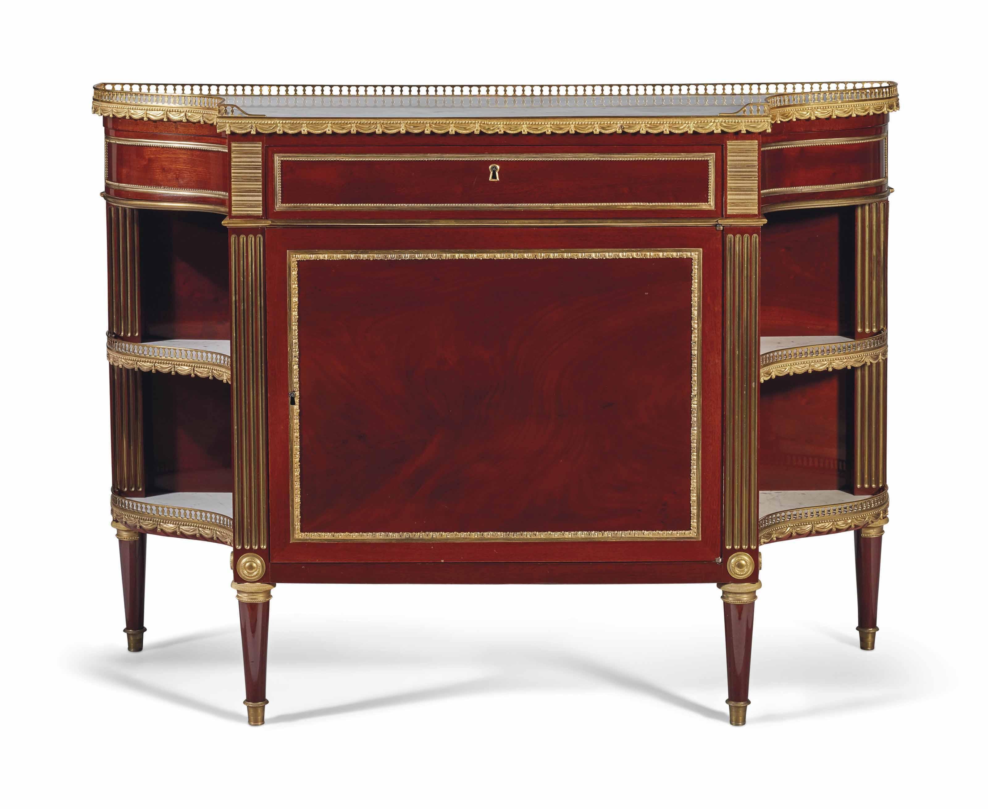 console desserte de style louis xvi christie 39 s. Black Bedroom Furniture Sets. Home Design Ideas