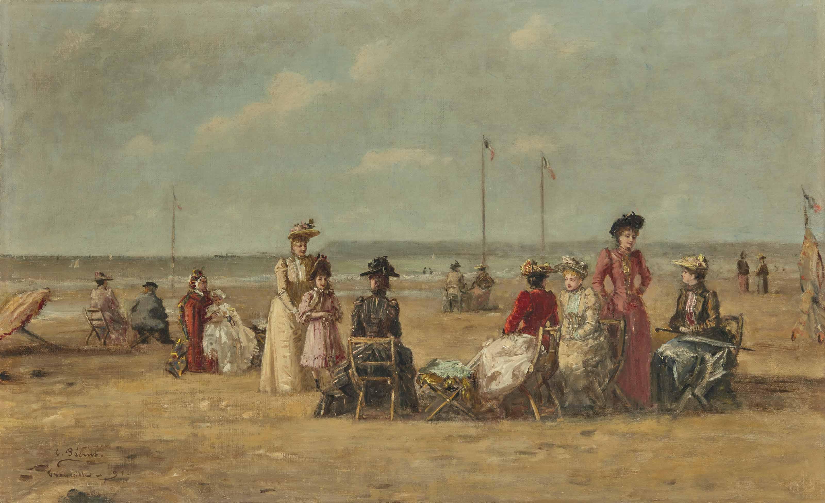 La plage de Granville