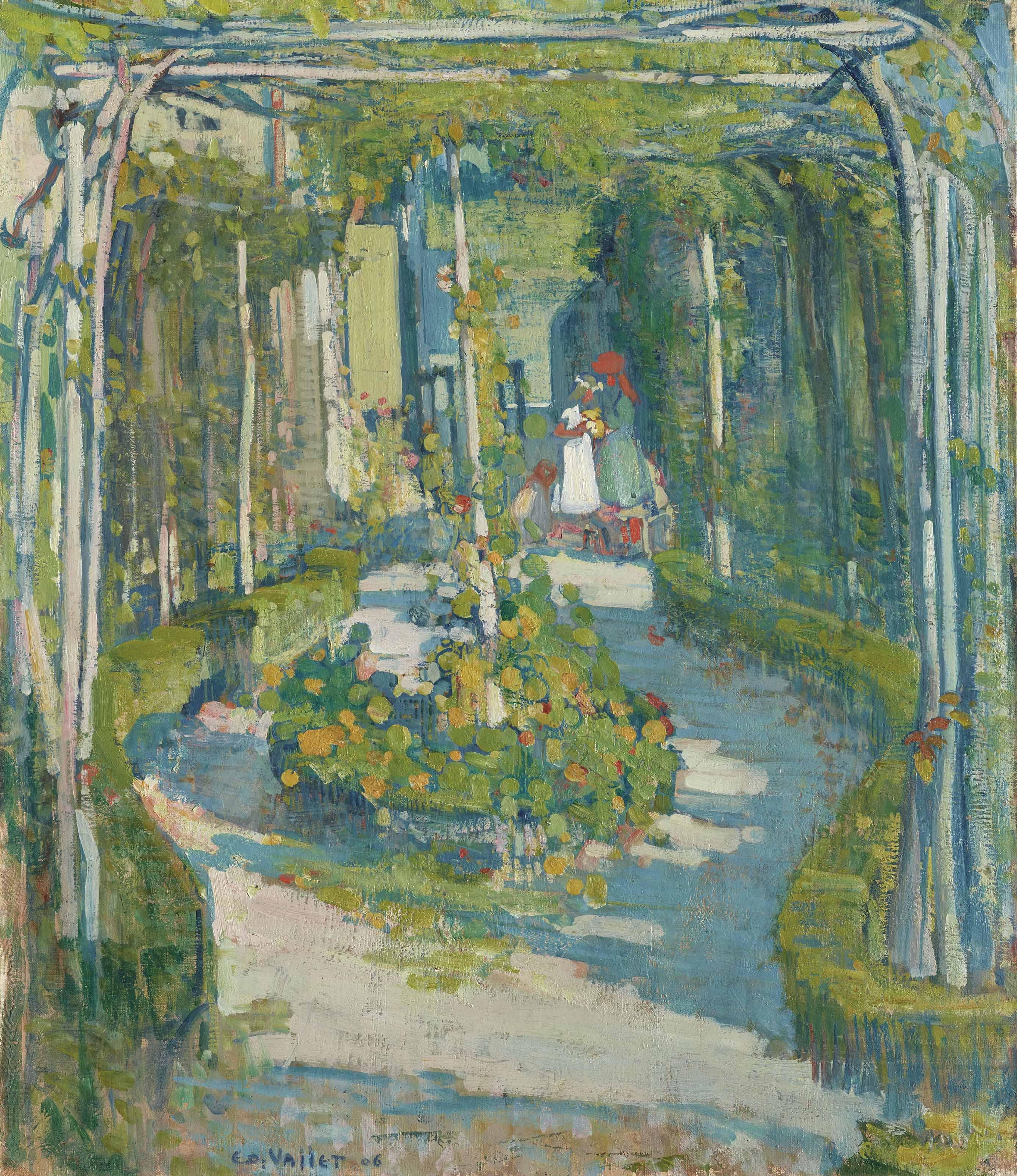 Jardin en mai, 1906