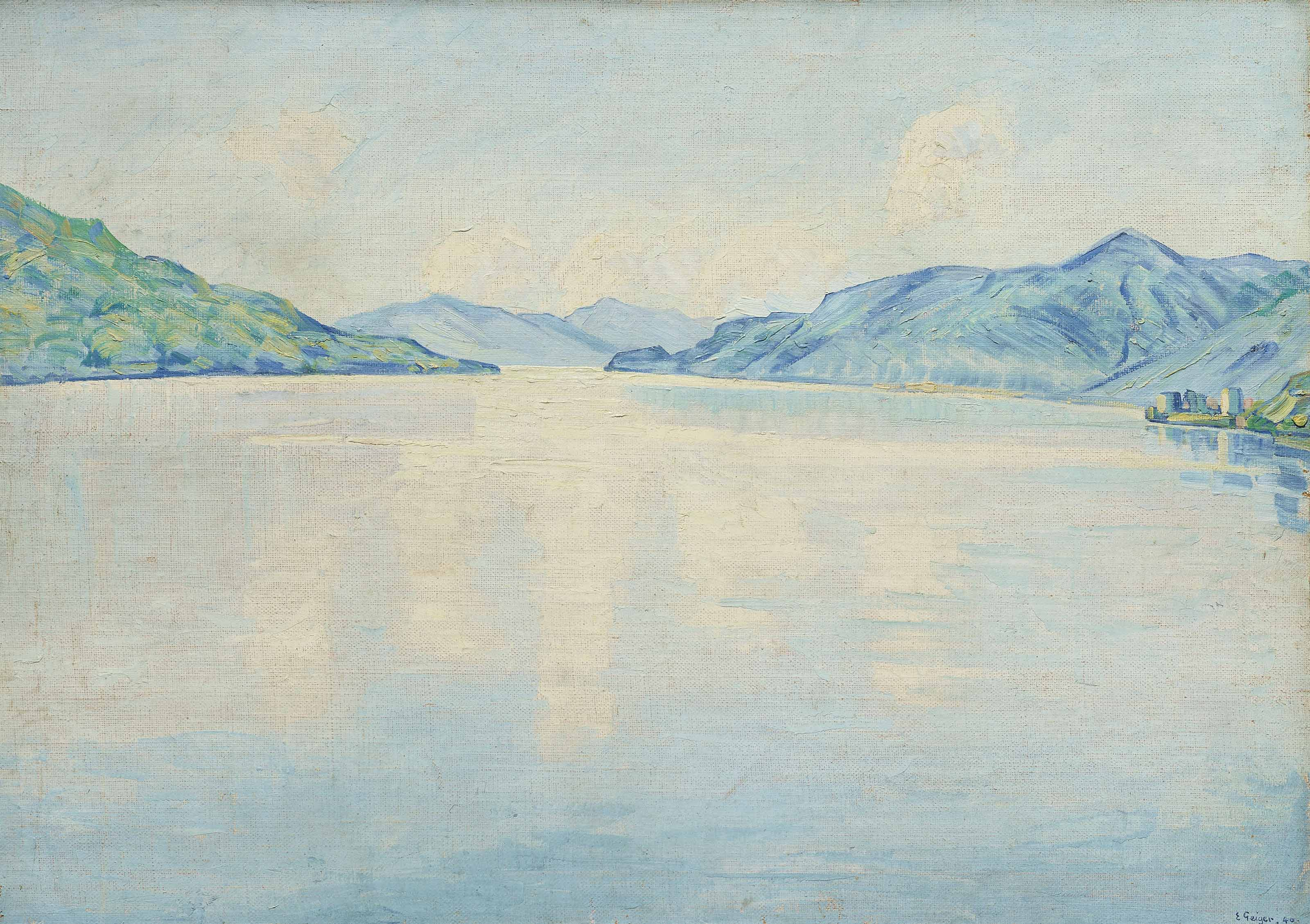 Lago Maggiore, 1940