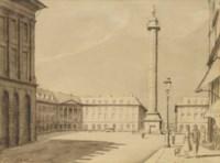 Place Vendôme Paris, 1952