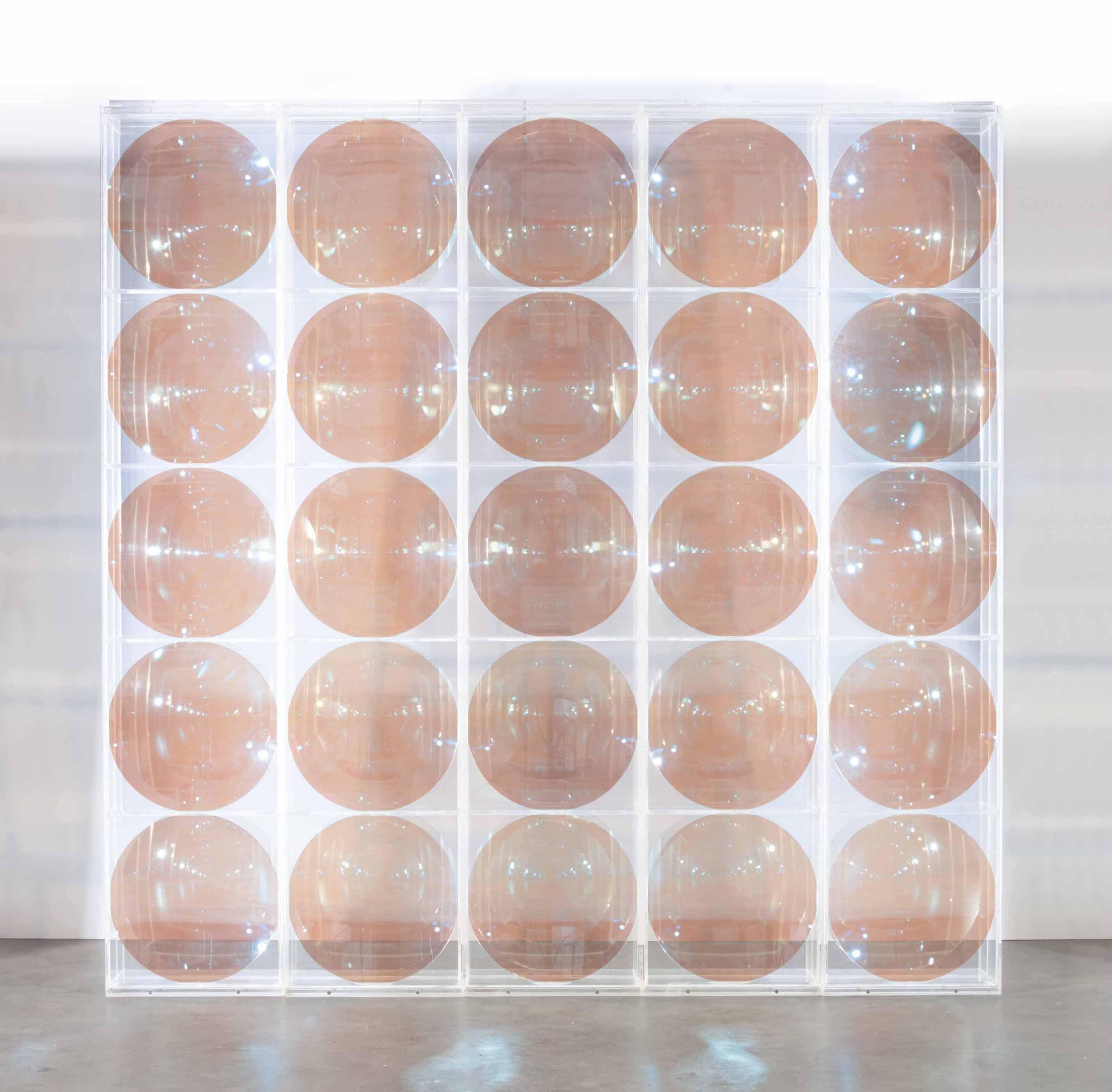 Integration, Sphärische Hohlspiegelwand (Integration, Spherical Concave Mirror Wall)