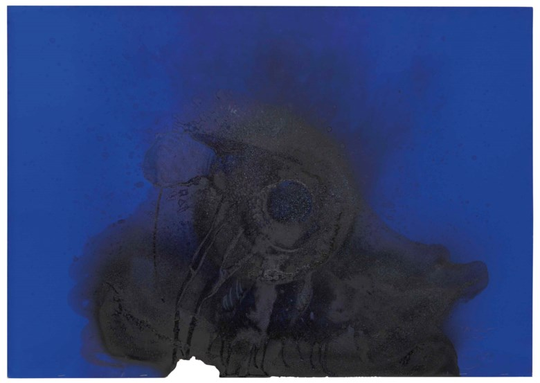 Otto Piene (1928-2014), Mother Star, executed in 1981. 68 x 96 cm. Estimate €20,000-30,000. This lot is offered in Post-War and Contemporary Art on 23-24 April 2018  at Christie's in Amsterdam