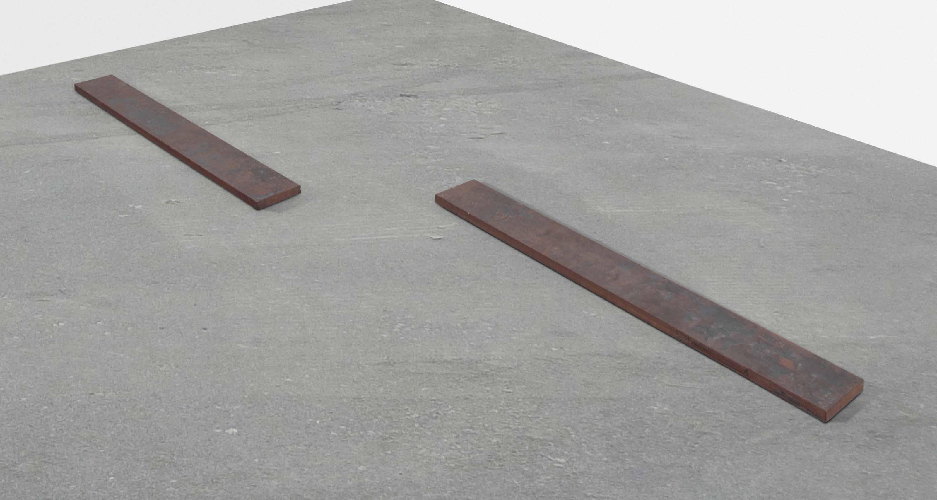 Rechteckige Eisenplatte (Rectangular Iron Plate)