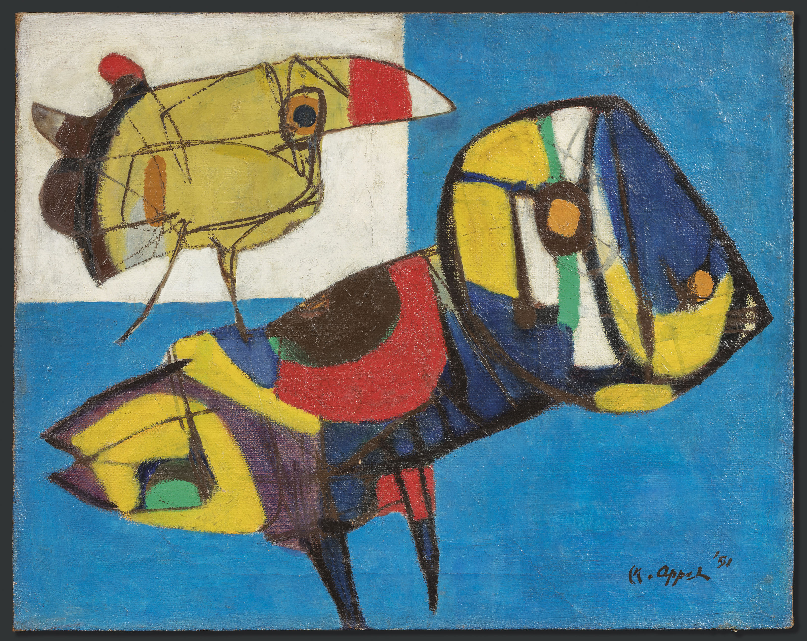 The CoBrA Art Collective: 'The Last True Avant-garde Art Movement
