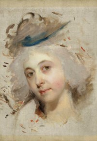 Head study of a lady