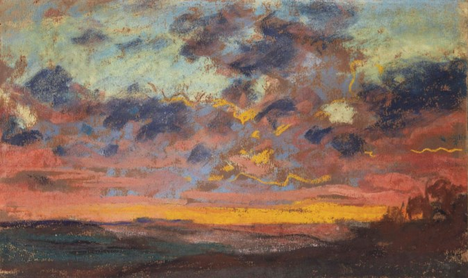 monet coucher de soleil