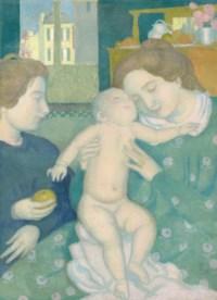 Maternité à la pomme