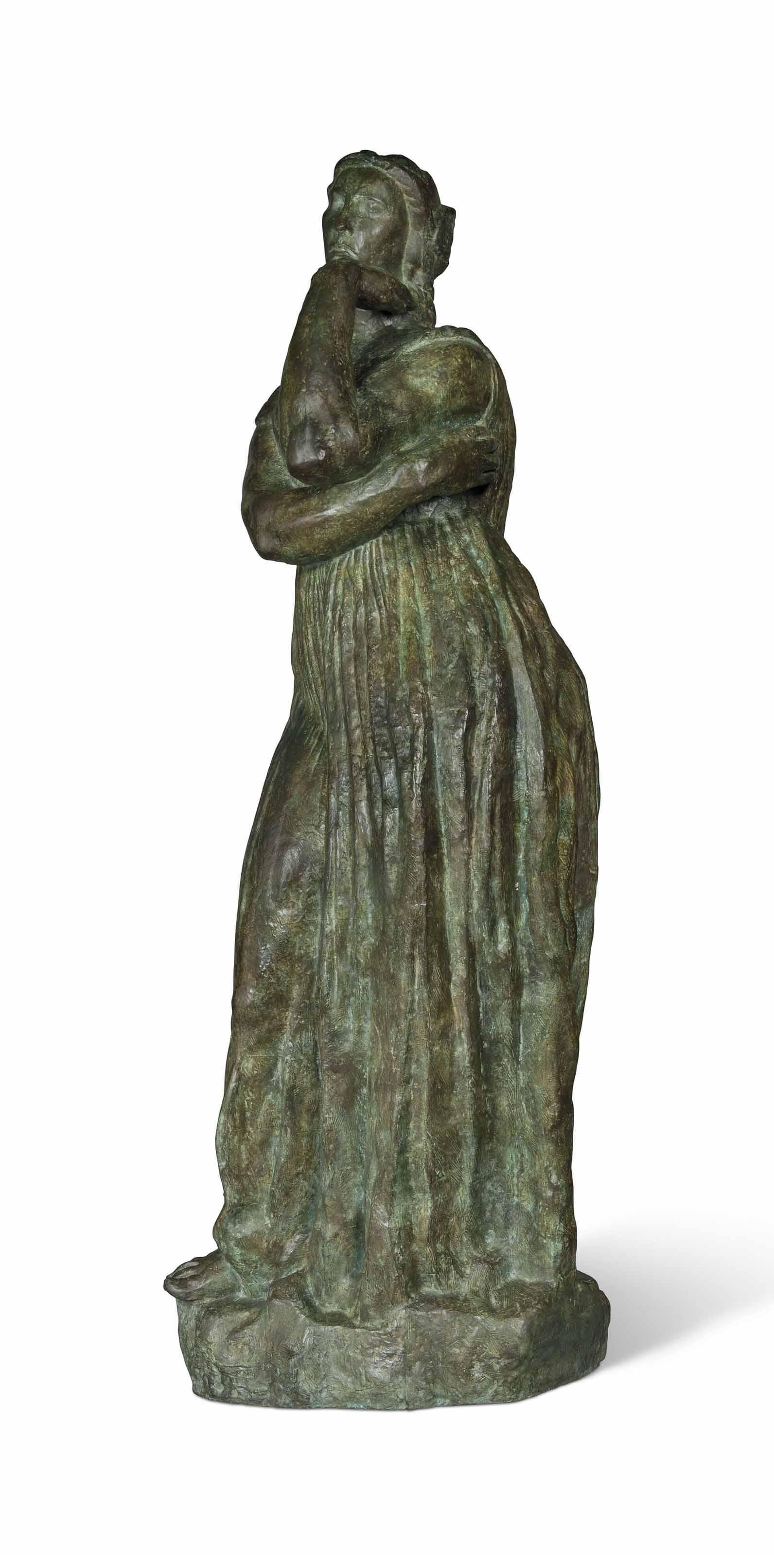 Pénélope, grand modèle avec pied et sans fuseau