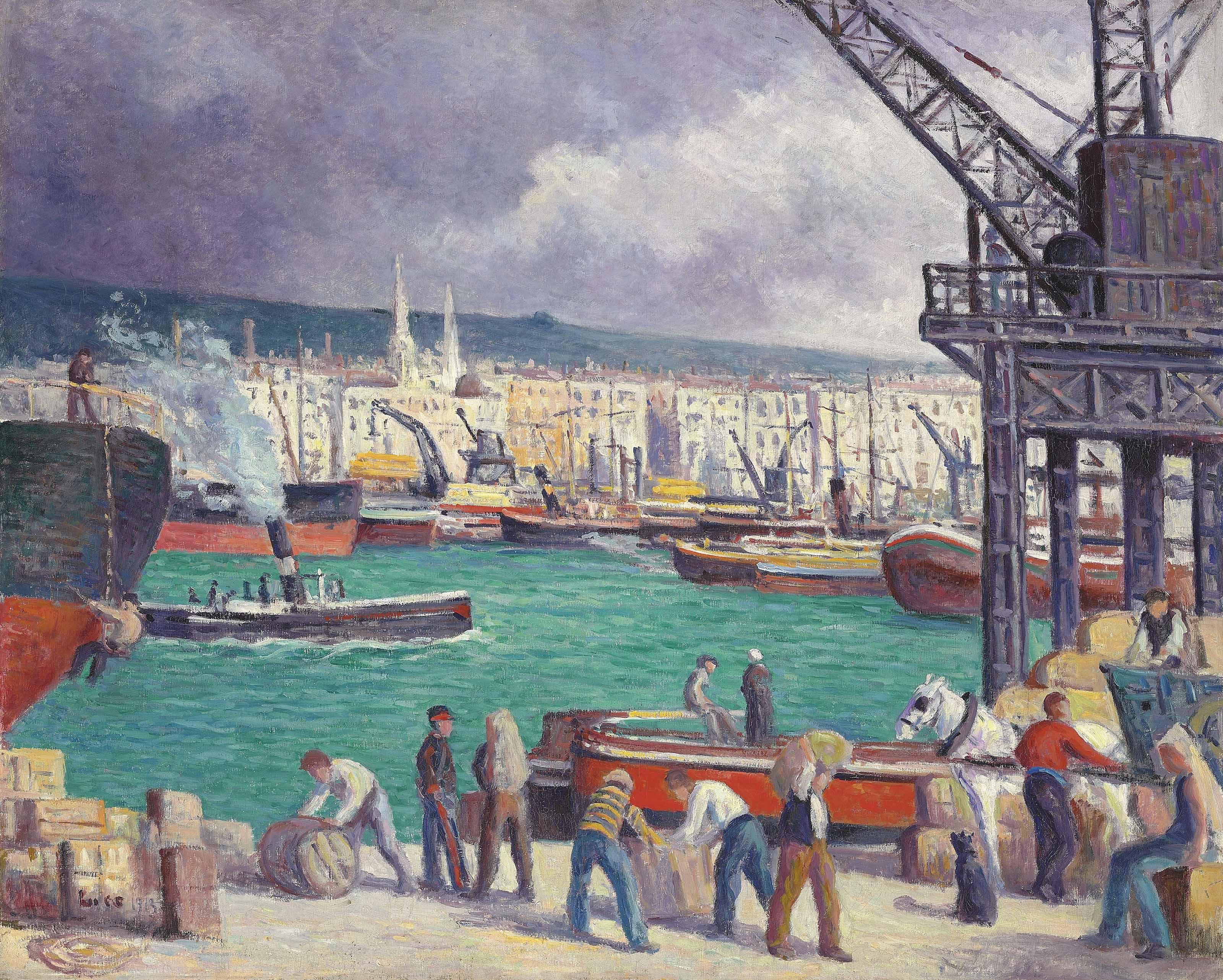 Rouen, le port