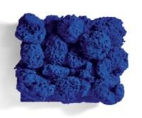 Relief Éponge bleu sans titre (RE 37)