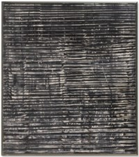 Untitled (Grey-Black Waves)