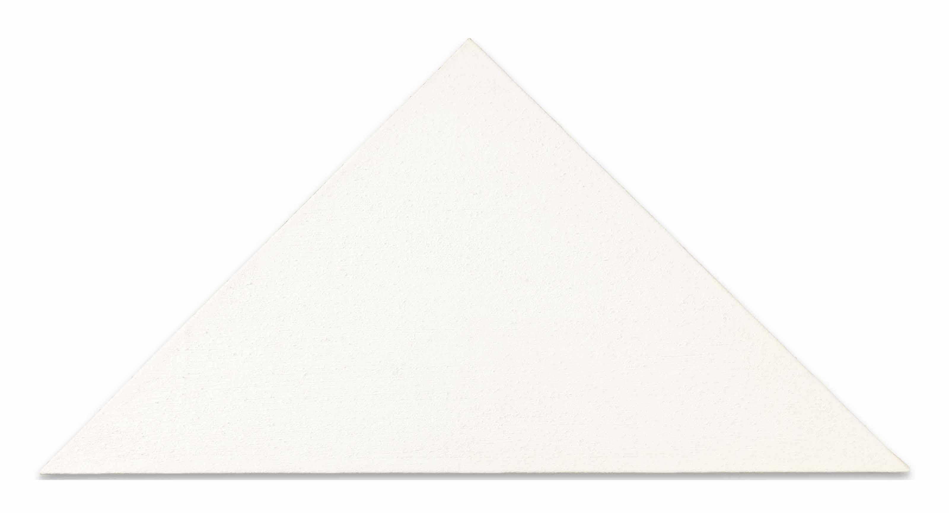 Ohne Titel (Weisses Dreieck) [Untitled (White Triangle)]