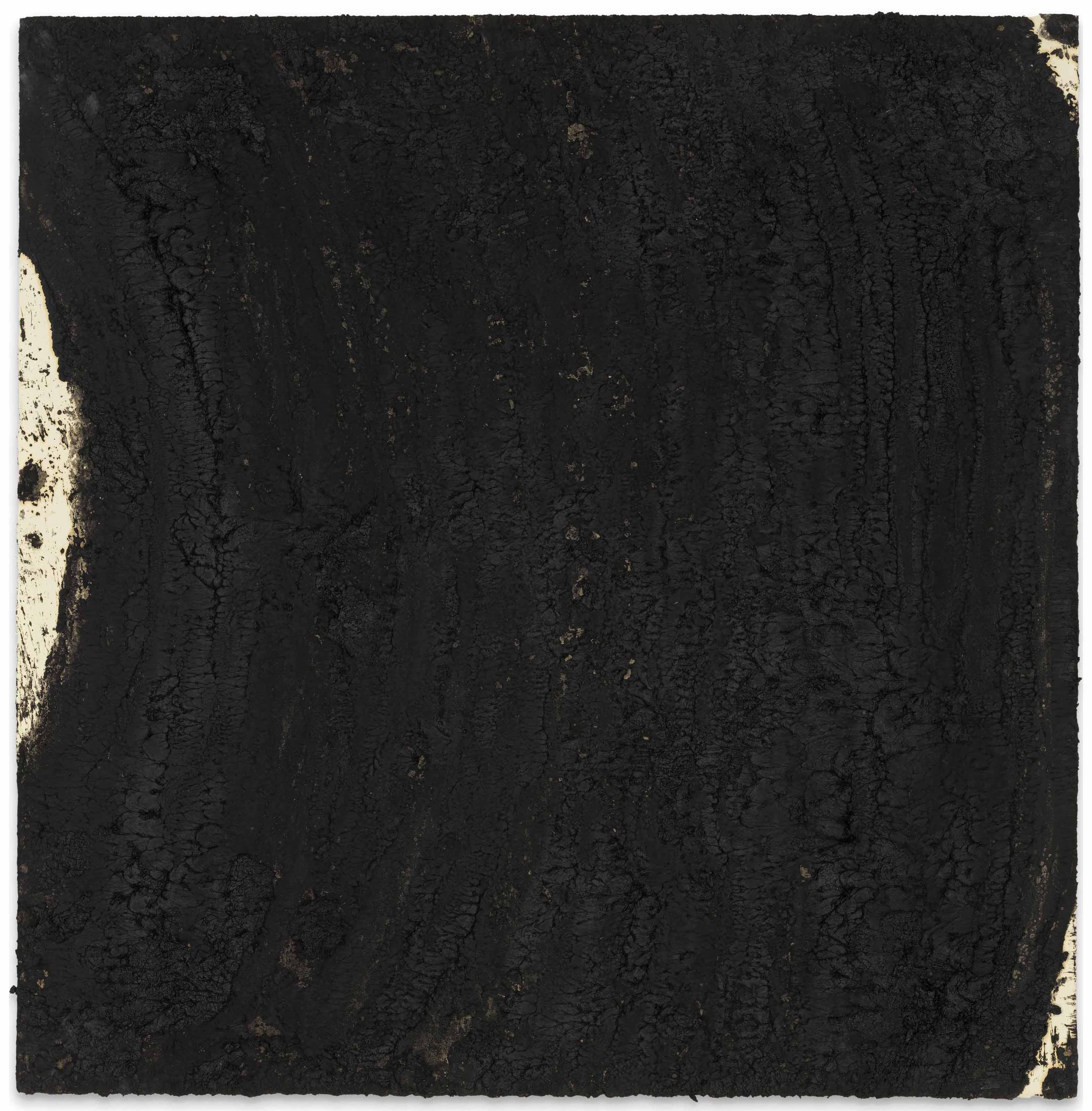 Richard Serra (b. 1939), Stratum 8, 2007. 39½ x 40 in (100.3 x 101.6 cm). Estimate £250,000-350,000. This lot is offered in the Post-War and Contemporary Art Day Auction on 7 March 2018  at Christie's in London