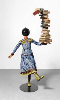 Girl Balancing Knowledge