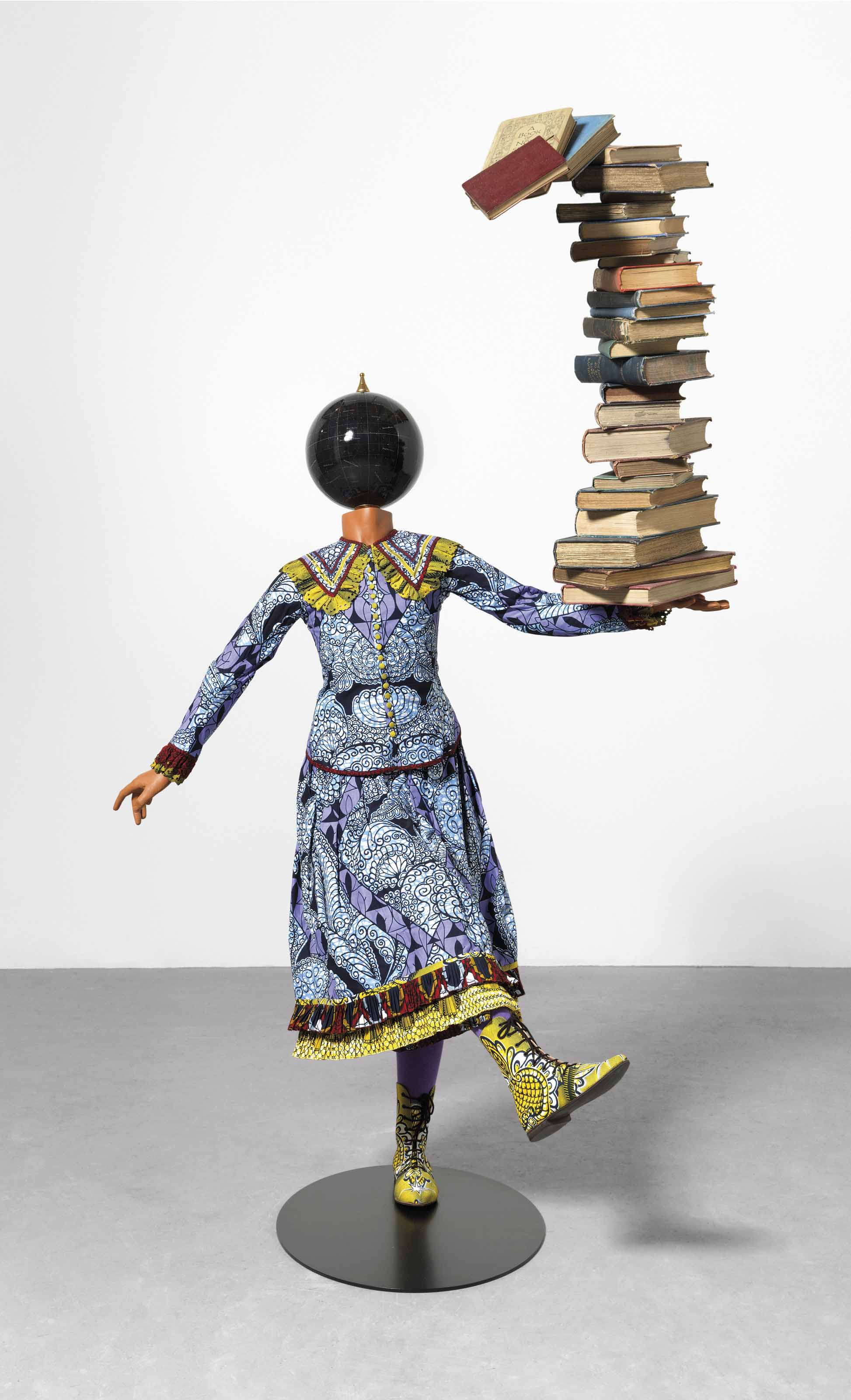Girl Balancing Knowledge