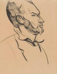 Head of Ezra Pound