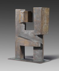 Rectangular bronze form No. 6