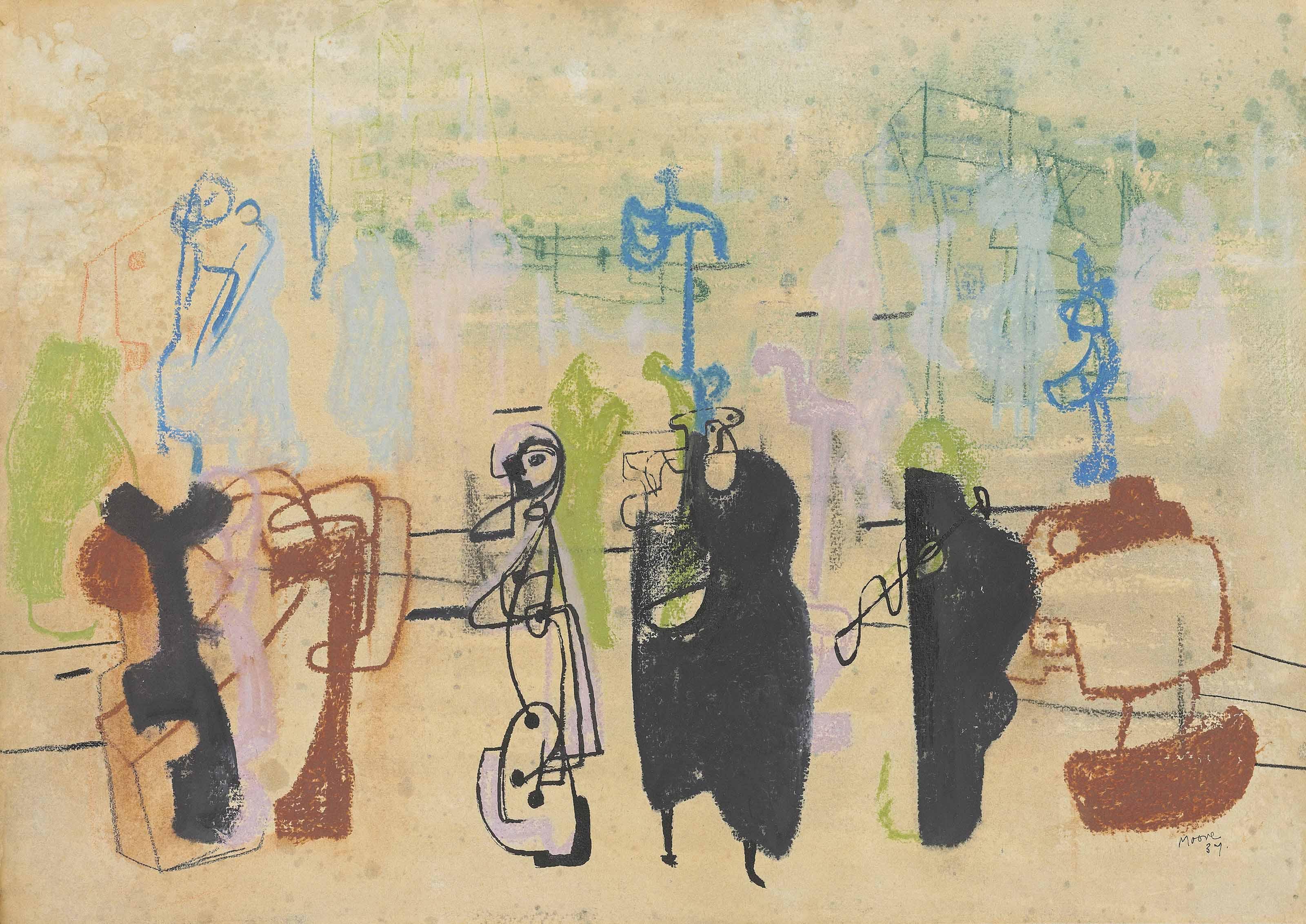 Henry Moore, O.M., C.H. (1898-