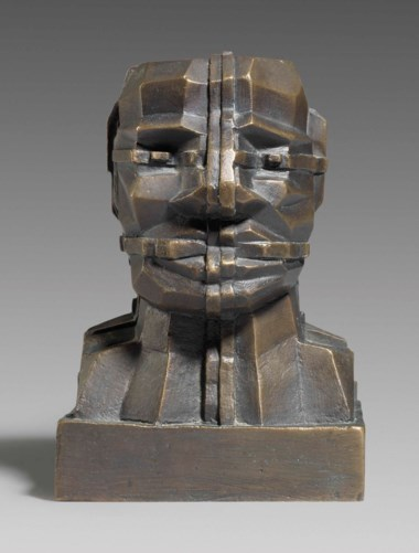Sir Eduardo Paolozzi, R.A. (1924-2005), Small Mondrian Head, 1993. 5¼  in (14  cm) high. Estimate £6,000-8,000. This lot is offered in Modern British Art Day Sale on 20 June 2018 at Christie's in London