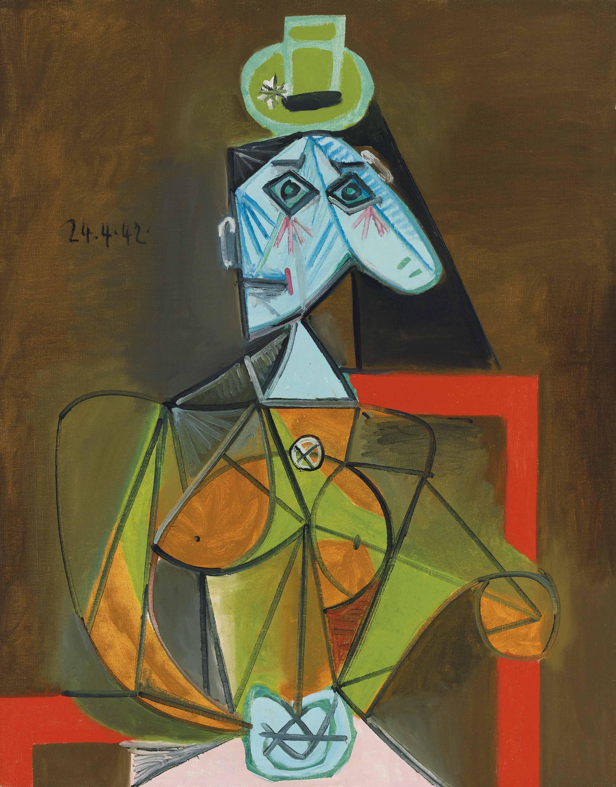 Femme dans un fauteuil (Dora Maar)
