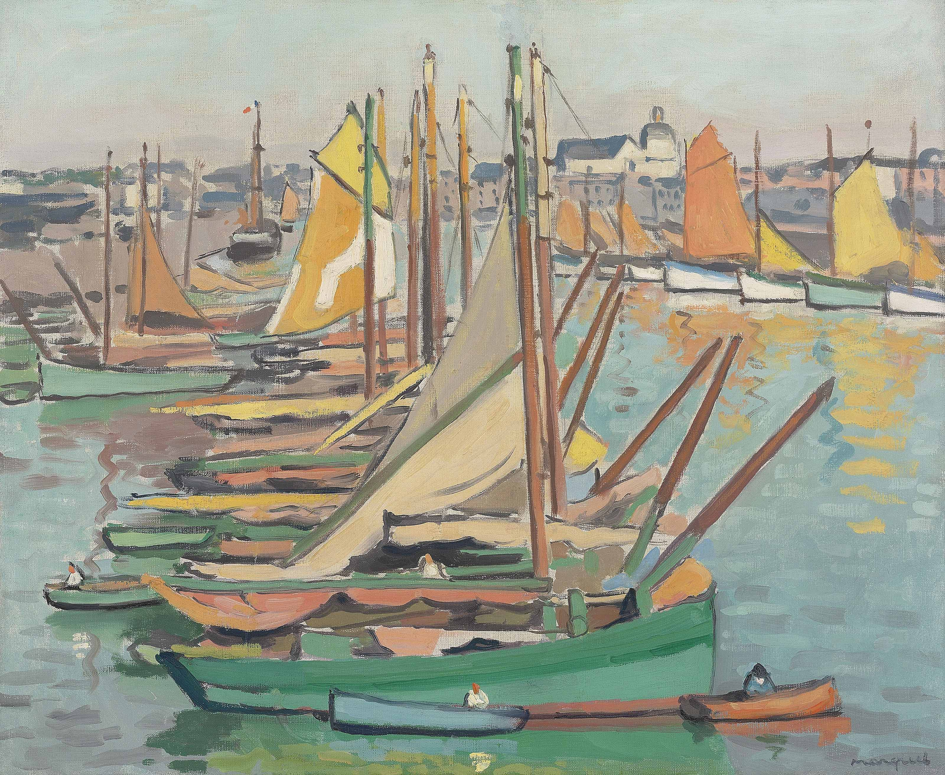 Le Port des Sables-d'Olonne