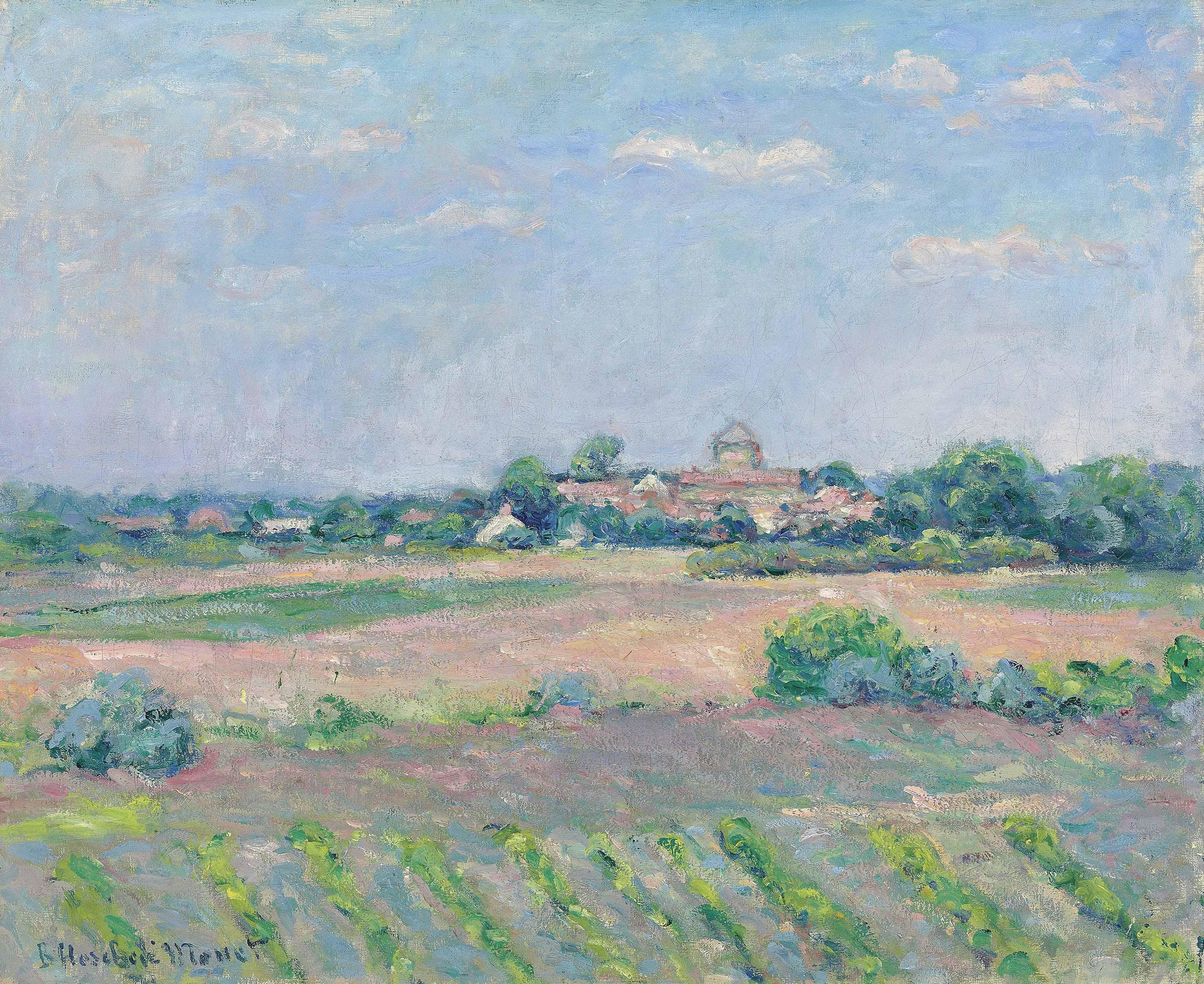 Prairie près de Saint-Vincent-sur-Jard