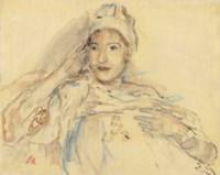 Elisabeth Gésinus-Visser II (mit Hut)