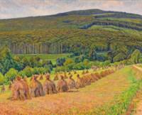 Meules dans les champs