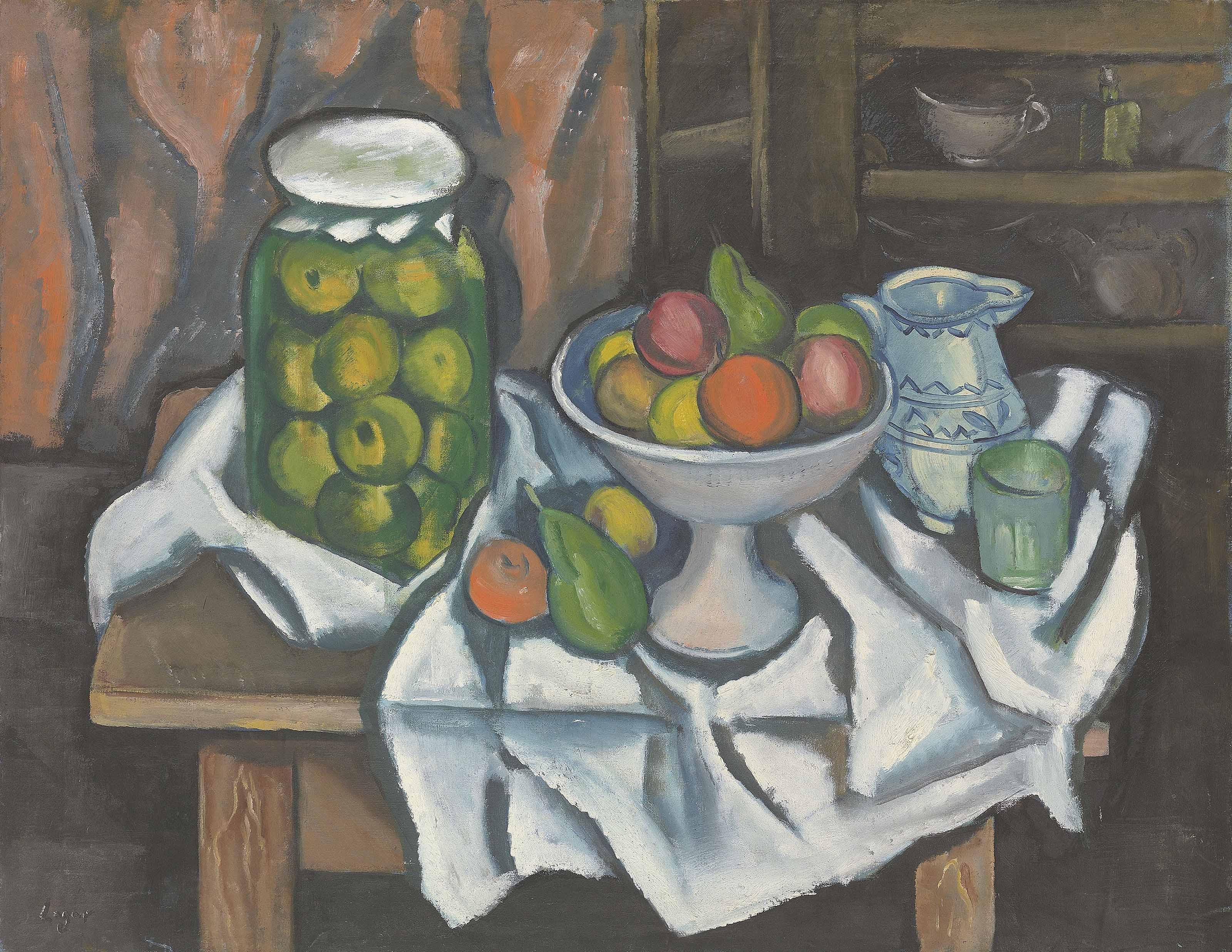 Fruits sur table