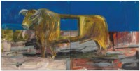 Stier mit loch (Bull with hole)