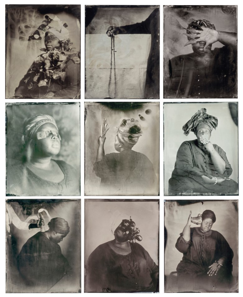 Khadija Saye (1992-2017), in this space we breathe, executed in 2017, this work is number one from an edition of fifty. Each sheet 24⅛ x 19 ¾ in (61.3 x 50.2 cm). Estimate £7,000-10,000. Offered in Post War and Contemporary Art Day Auction on 5 October 2018 at Christie's in London