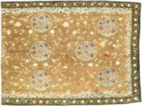 A FINE IMPERIAL KESI  FLOOR COVERING SECTION